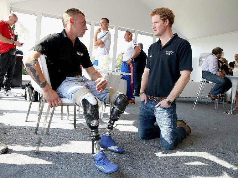 Wounded Warriors Do Battle at Prince Harry's Invictus Games