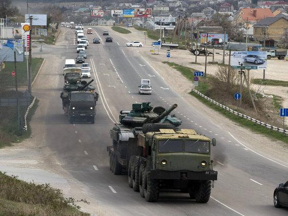 Ukraine Rebels Watch Scotland Vote with Envy