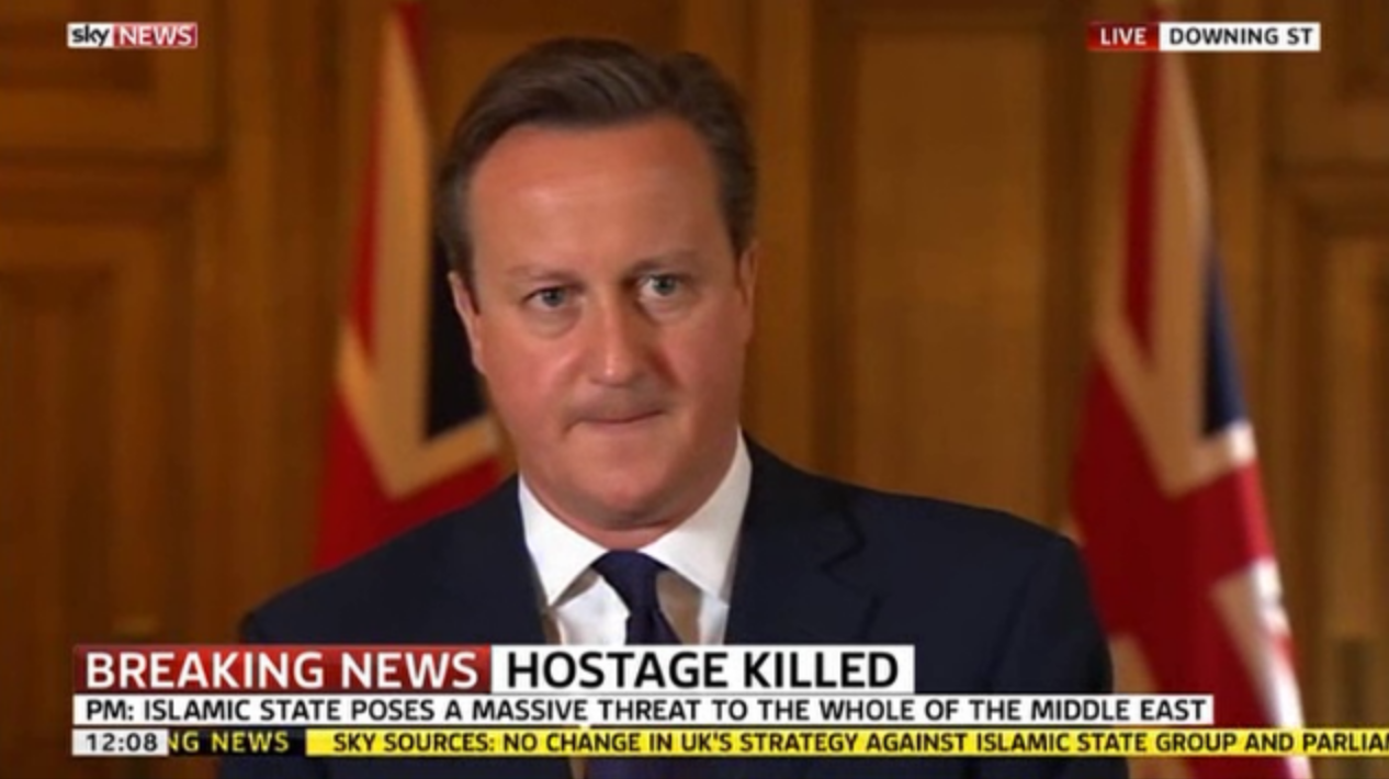 Cameron Says 'Islam is a Religion of Peace… We Will Destroy ISIL With an Iron Determination'