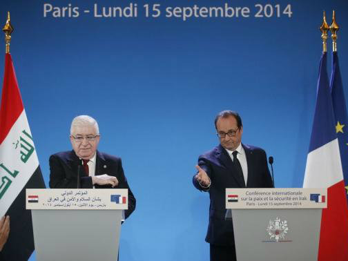 France Opens Iraq Conference Urging 'Global' Fight on Jihadists