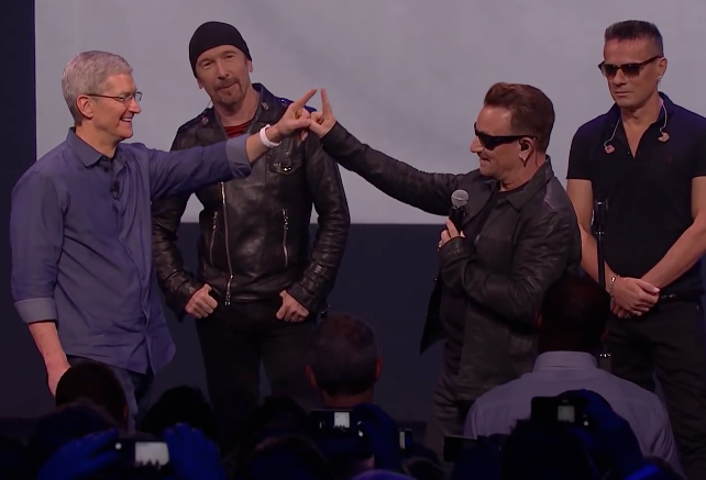 Apple and U2: Perfect for Each Other, But a Nightmare for the Rest of Us