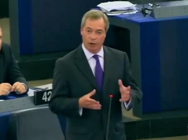 Farage Urges West to 'Grow Up' and Work with Putin to Defeat ISIS