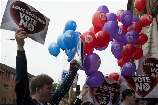 Scotland's Independence Vote Puts UK Union on Edge