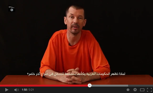 BREAKING: ISIS Release 'Chat-Show' Style Video Starring British Hostage John Cantlie