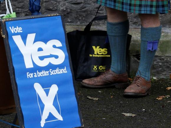 UK Markets Swinging Towards Scottish 'No'