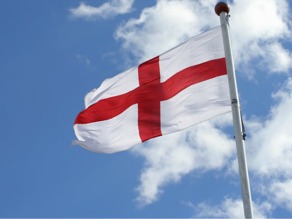 English Patriots 'Too Embarrassed to Fly Own Flag'
