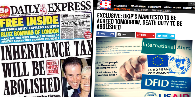 Daily Express 'EXCLUSIVE' on UKIP Policy is 3 Month Old Breitbart London Story