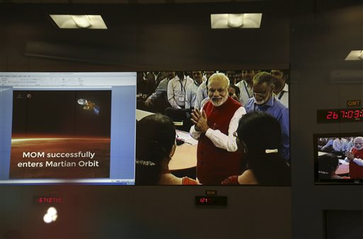 Mission Accomplished: India Joins Mars Explorers