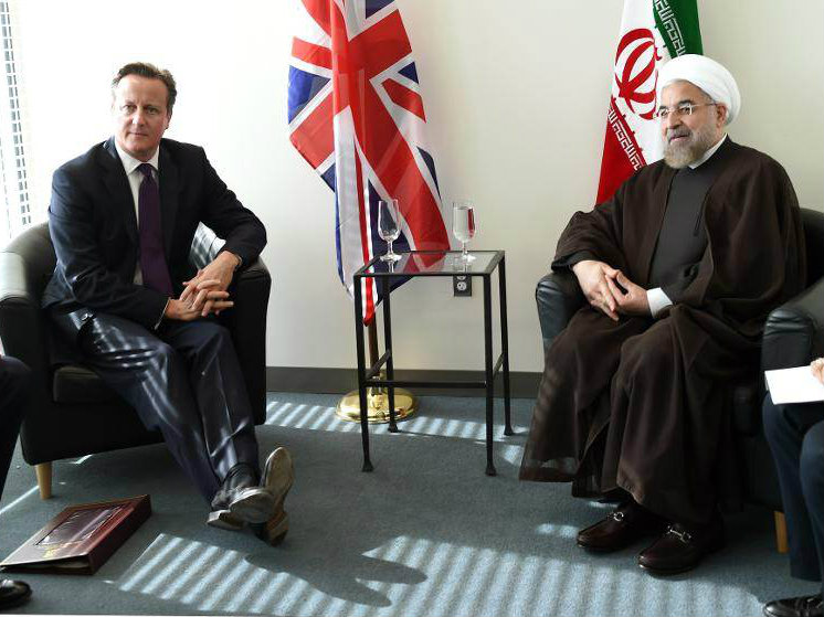 British PM Says Iran Can Be 'Part of Solution' in Syria
