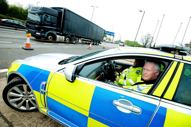 Two Arrested On M6 Motorway in Terrorism Raid