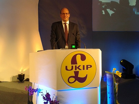 Nuclear Bomb Number 2: Mark Reckless MP Defects To #UKIP