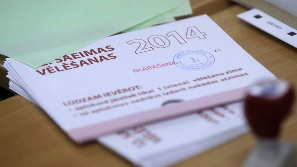 Latvians Hold Election in Shadow of Ukraine Crisis