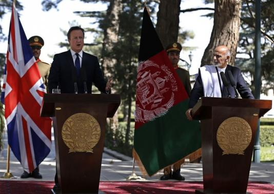 Cameron Pledges UK Troops Will Not Return to Afghanistan in Surprise Visit to Country