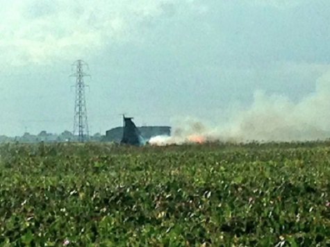 American Military Jet Crashes In Lincolnshire, Pilot Safe