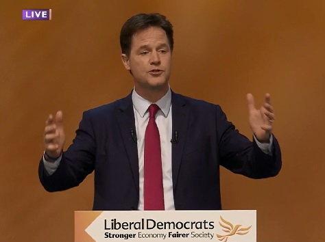 Full Text Of Nick Clegg's 2014 Party Conference Speech