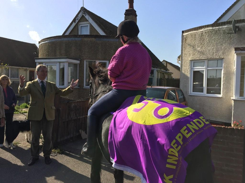 It's a One Horse Race In Clacton As UKIP Prepares for Its First Elected Commons Seat