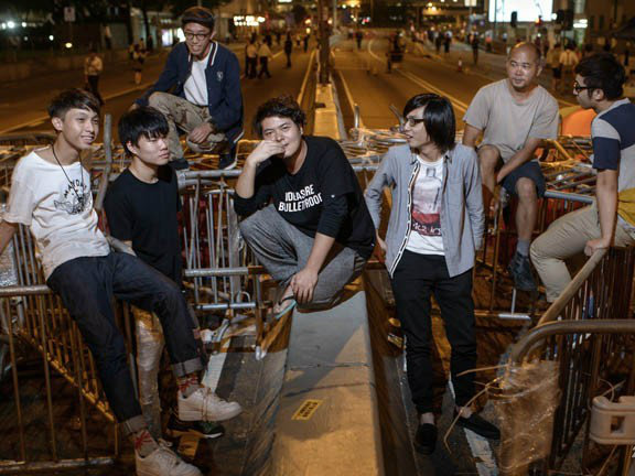 Hong Kong Protesters Plan Fresh Show of Force After Talks Collapse