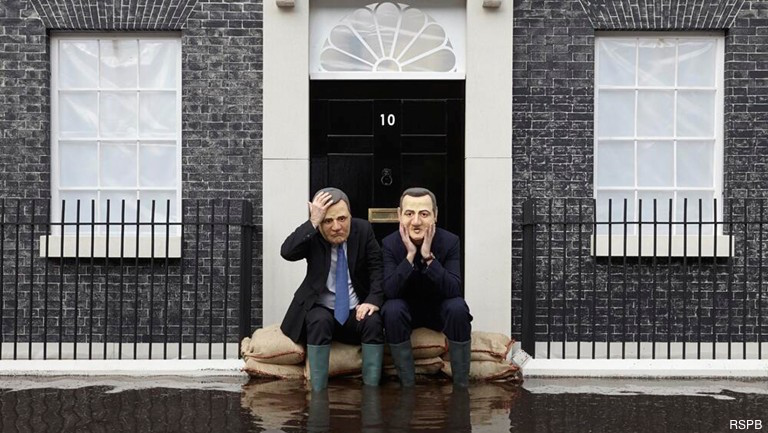 Owen Paterson's Assault on the Climate Change Act puts David Cameron on the Horns of an Impossible Dilemma