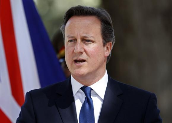 Cameron Says Britain Should Stand up for Hong Kong Rights