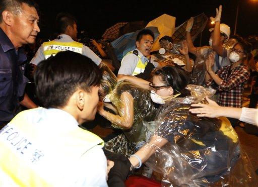 Hong Kong Police Attack on Activist Sparks Anger