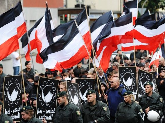 German Police Fear Riots as Far-Right Groups Unite Against Islamism