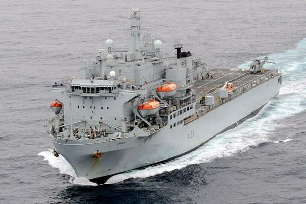 British Navy Ship Heading for Sierra Leone Ebola Zone