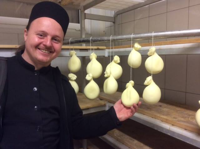 Russian Monks Defy Food Import Ban by Making Own Mozzarella Cheese