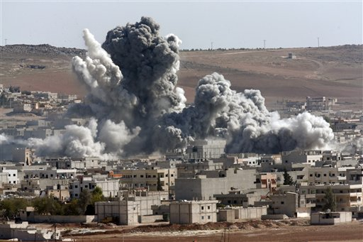 Syria Airstrikes Toll 'over 500'