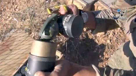 German Hand Grenades Find Way Into ISIS Arsenal