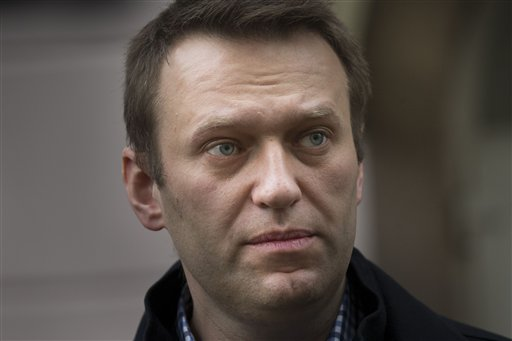 Russia's Navalny Vows to Fight Putin