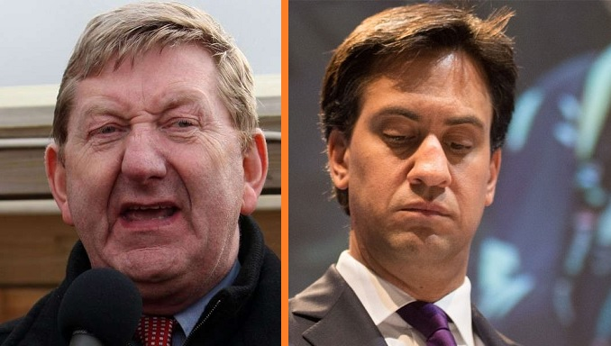 Union Boss: Miliband 'Could Get Run Over by a Bus Tomorrow, it Wouldn't Really Matter'