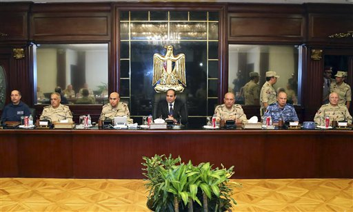 Egypt Leader: Foreign Hands Behind Sinai Attack