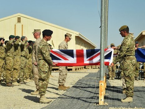 Britain Hands Over Camp Bastion, Ends Afghan Mission