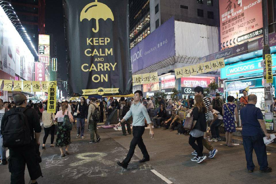 Hong Kong Protesters to Hold Street Vote on Next Steps