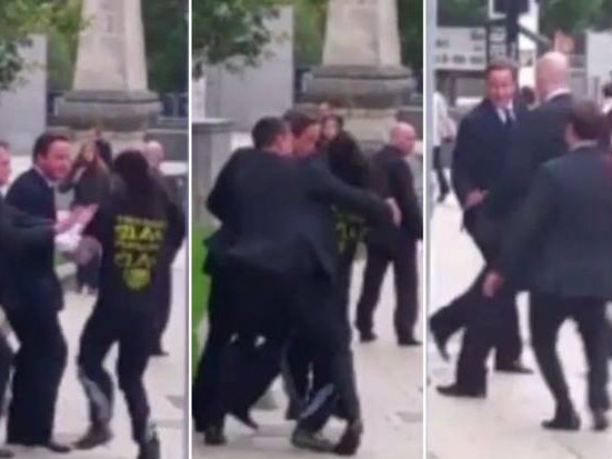 Security Alert after 'Jogger' Runs into Prime Minister in Leeds