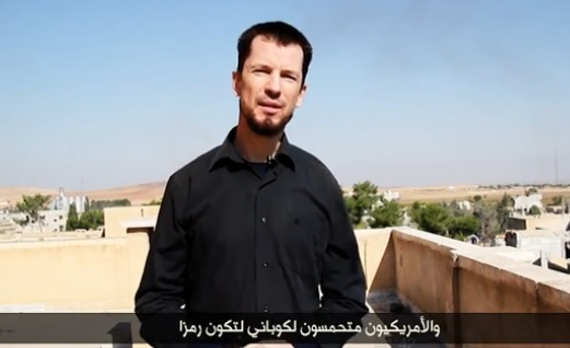 Cantlie in Kobane: New Video Released With ISIS Drone Footage