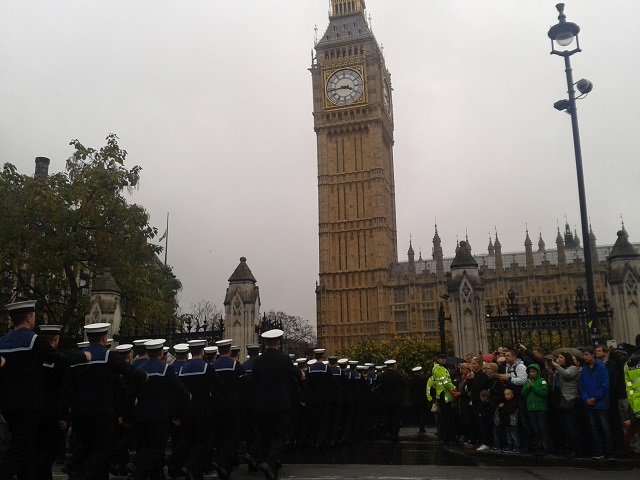 MPs Thank Armed Forces at Parliament Military Parade