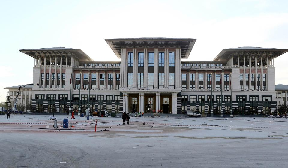 Erdogan to Unveil Turkey's Controversial New Presidential Palace