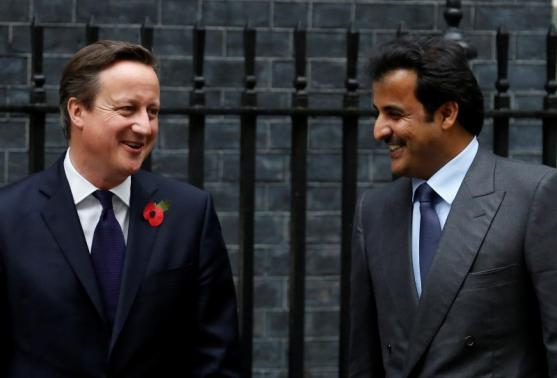 PM Cameron Appeals to Qatar Emir for More Investment