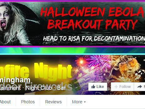 Nightclub Apologises for Ebola-Themed Halloween Party