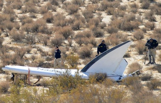 Probe of Virgin Spaceship Crash May Take 'Year'