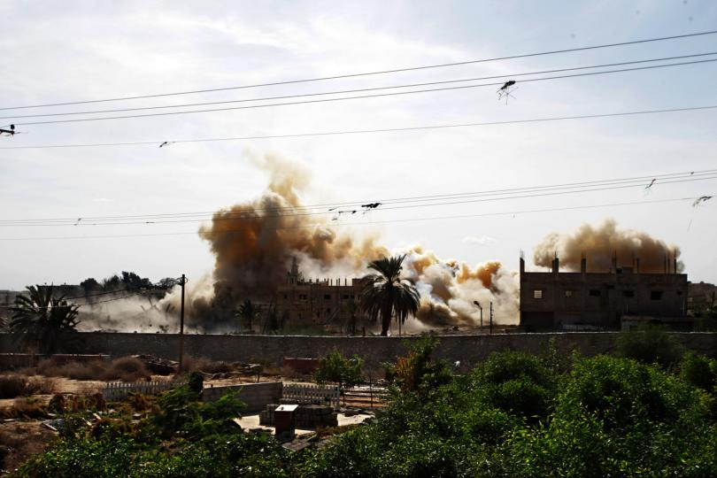 Egypt Demolishes Sinai Border Homes in Alleged Deal with Israel