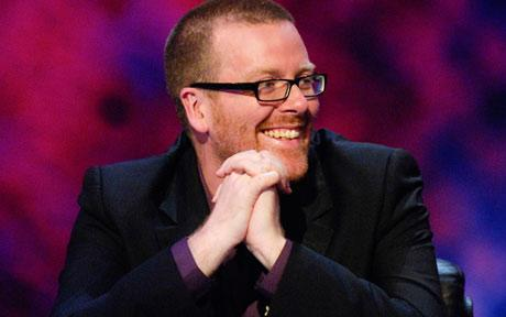 Frankie Boyle's Funniest Gag Yet: Not All Comedians are Lefties