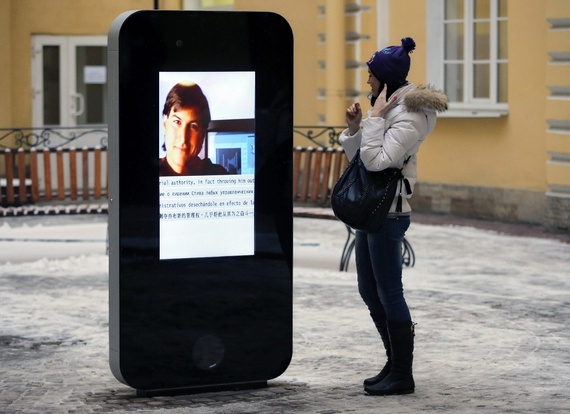Steve Jobs Memorial Demolished in Russia after Apple CEO Comes Out as Gay