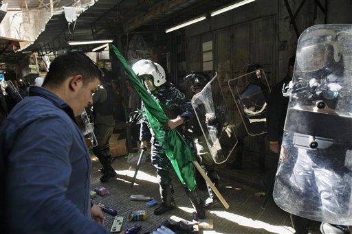 Heavy Security at Contested Jerusalem Shrine