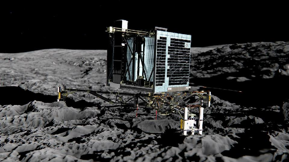 Europe Set to Make Space History with Comet Landing