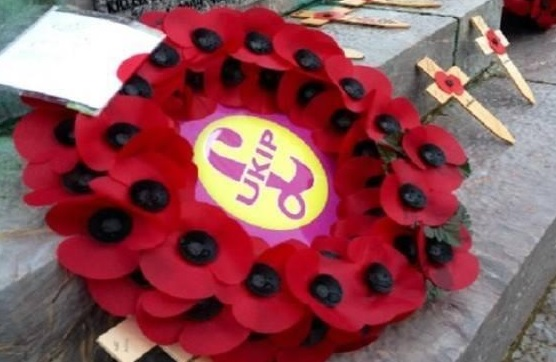 Farage Anger That Welsh Nationalist Party Will Lay Cenotaph Wreath But UKIP Cannot