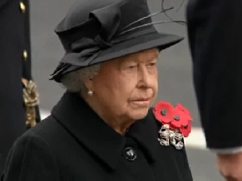 Queen Applauded For Attending Remembrance Sunday Despite Terror Threat