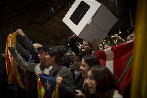 Catalonia Votes for Independence from Spain