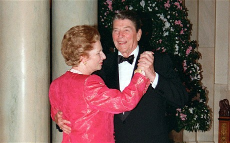 Tape Shows Contrite Reagan Apologizing to Thatcher